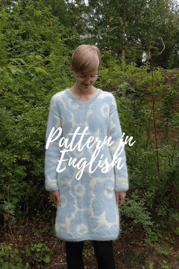 Unikko knitted dress